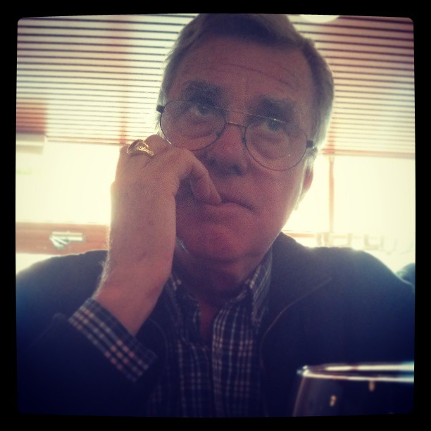 Pappa funderar.