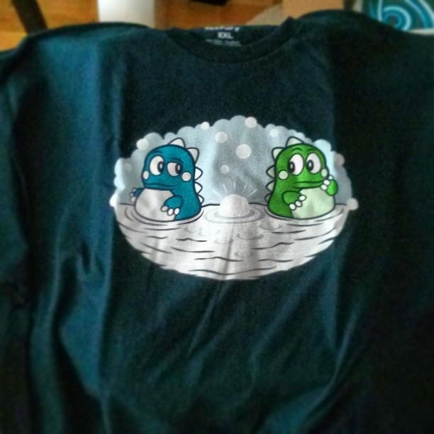"""Min nya #Teefury t-shirt. Nån som kommer ihåg? :-) Motivet heter förresten """"It wasn't me."""" :-)"""