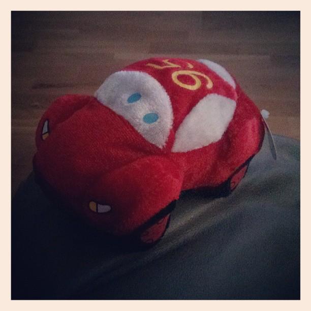 Tillökning i garaget, jag vann en bil på en vinst-varje-gång-stånd på Cityfestivalen i helgen. #Biiilen #FlashMcQueen