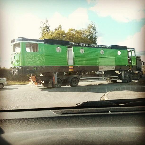 Tåg på väg. Pun intended :-)