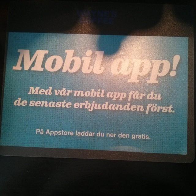 Vilken tur att appen är flyttbar... #särskrivning