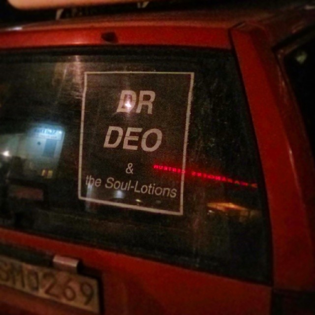 """Dr Deo & the Soul-Lotions"" #WTF"