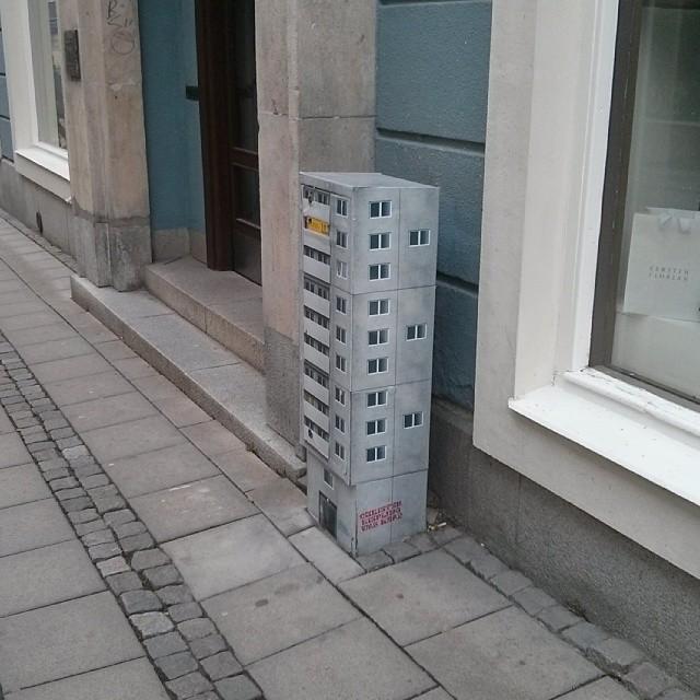 Elskåpshöghus i Västerås.