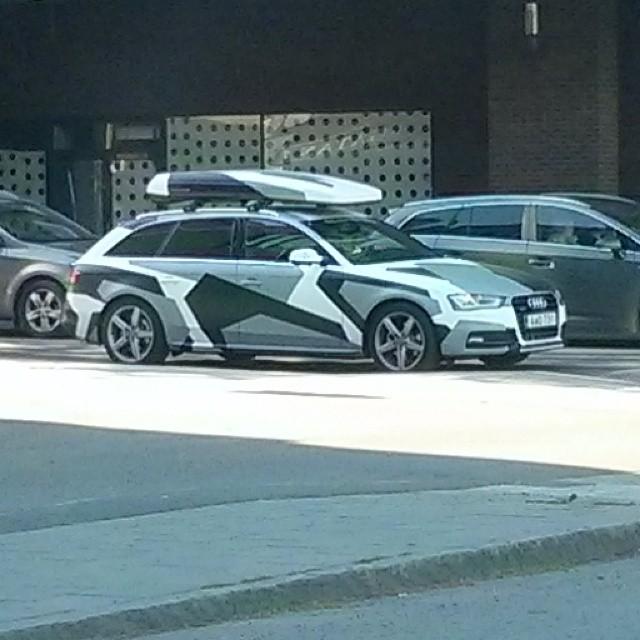 Du Audi-ägare... Din bil syns. Mycket.