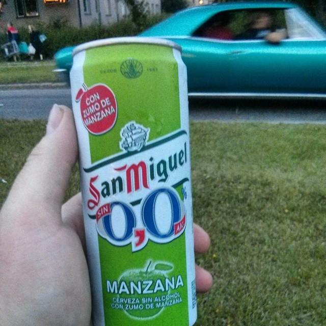 WTF is dis shiet? #SanMiguel #Manzana #NoAlcohol