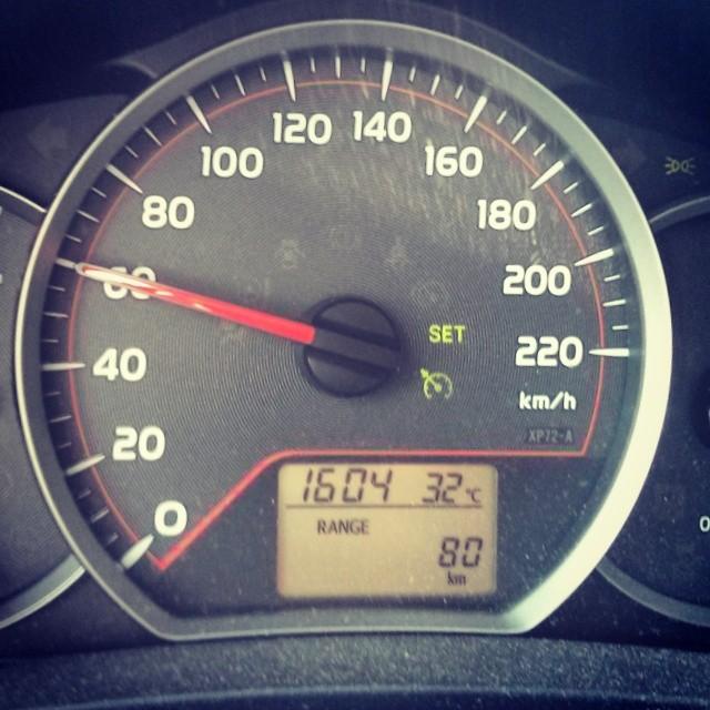 Varmt ute.