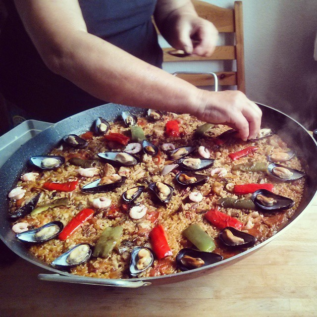 #Paella-time!