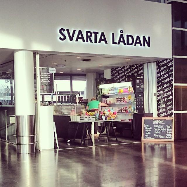 Jag är inte helt överens om att namnvalet är så värst bra på butiken, som ligger i en flygplats...
