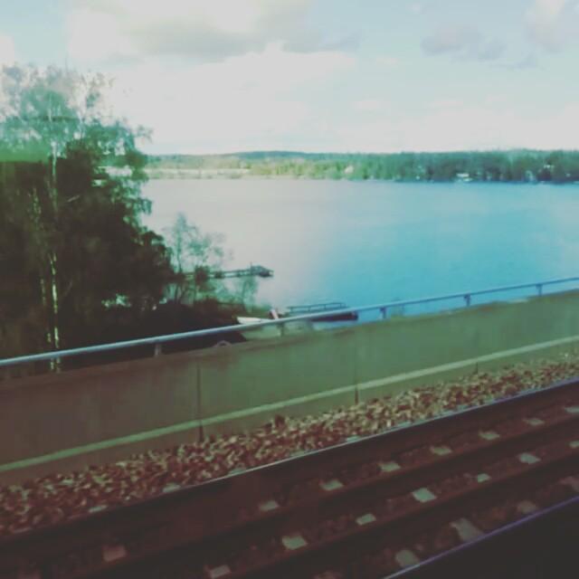Sista lektionen har hållts för ett tag, och således sista pendlingsdagen för ett tag. #Pendlarliv #SJ #tåg