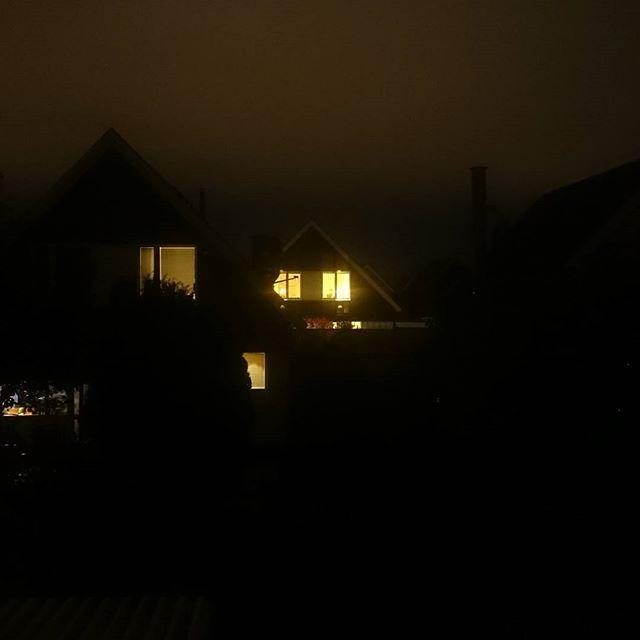 Hus i natten.
