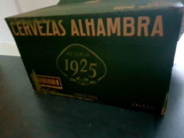 Vamos a ver lo que nos cuenta esta pequeña caja...#Alhambra1925