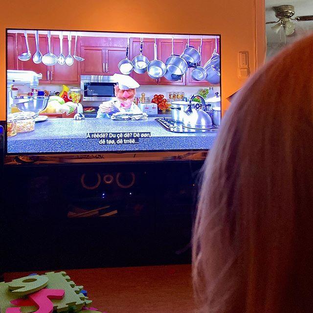Nya favoriterna hemma. #Muppets #Popcorn #BohemianRhapsody#MahNaMahNa